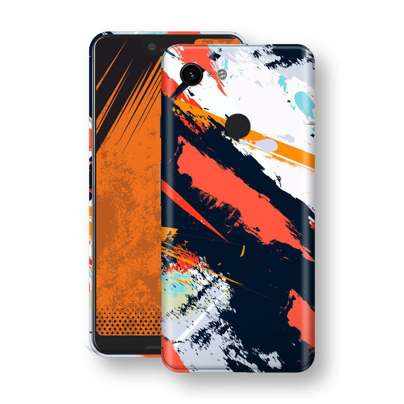 Google Pixel 3 XL Print Custom Signature Abstract Paitning 4 Skin Wrap Decal by EasySkinz - Design 4