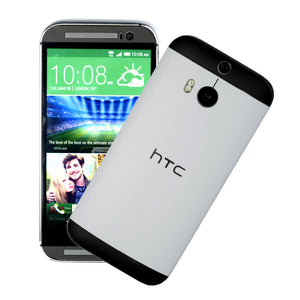 HTC One M8 white black skin