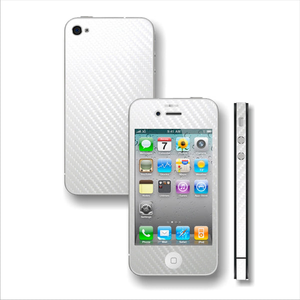 3D CARBON Fiber Skin for iPhone 4 / 4S