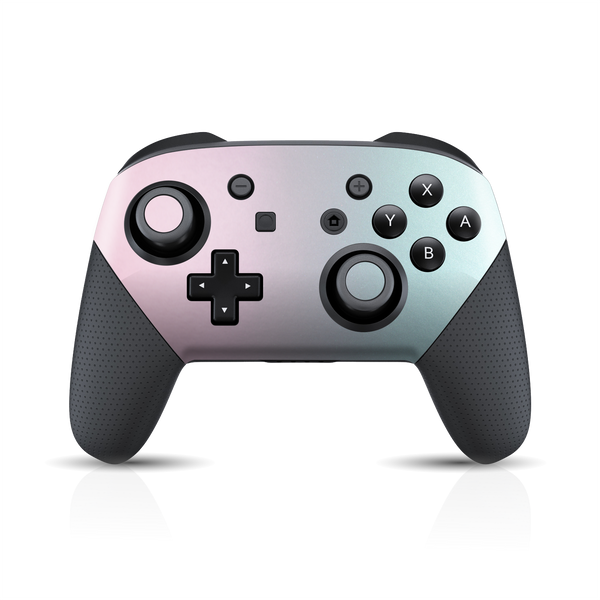 Nintendo Switch Pro Controller Chameleon Amethyst Colour-Changing Skin Wrap Sticker Decal Cover Protector by EasySkinz