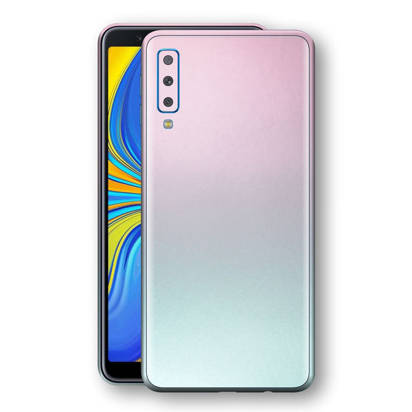 Samsung Galaxy A7 (2018) Chameleon Amethyst Colour-Changing Skin, Decal, Wrap, Protector, Cover by EasySkinz | EasySkinz.com