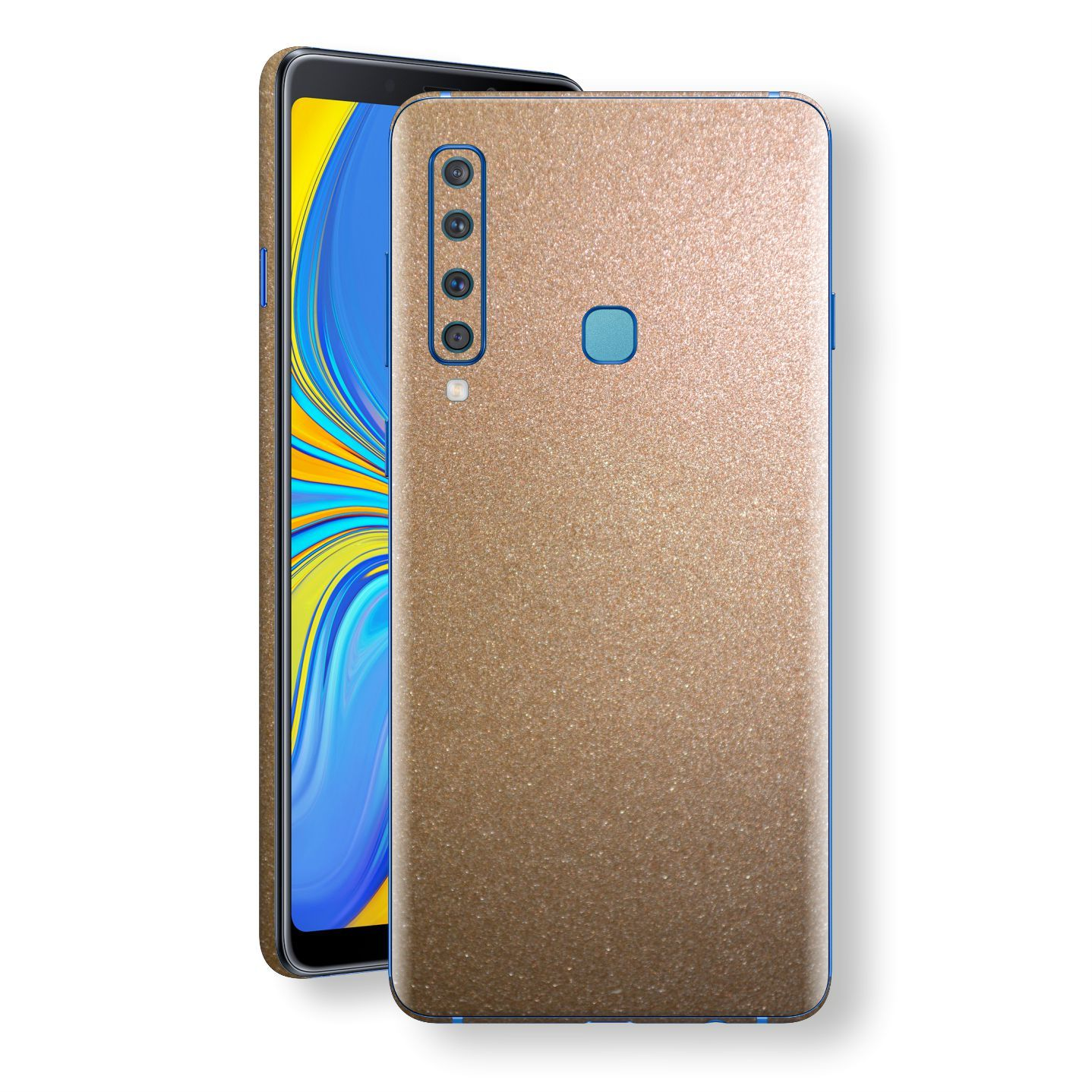 Samsung Galaxy A9 (2018) Antique Bronze Metallic Skin, Decal, Wrap, Protector, Cover by EasySkinz | EasySkinz.com