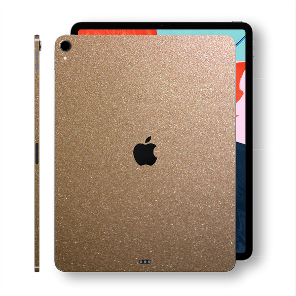 iPad PRO 11-inch 2018 Glossy Bronze Antique Metallic Skin Wrap Sticker Decal Cover Protector by EasySkinz
