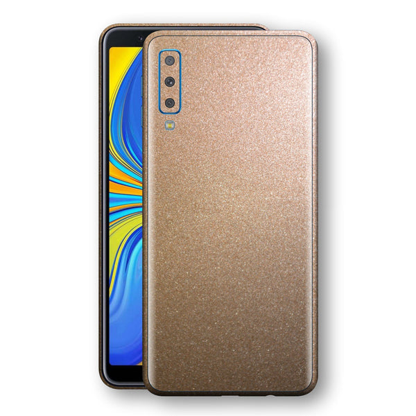 Samsung Galaxy A7 (2018) Antique Bronze Metallic Skin, Decal, Wrap, Protector, Cover by EasySkinz | EasySkinz.com