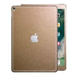 iPad PRO 12.9 inch 2017 Glossy Bronze Antique Metallic Skin Wrap Sticker Decal Cover Protector by EasySkinz