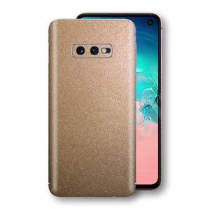 Samsung Galaxy S10e Antique Bronze Metallic Skin, Decal, Wrap, Protector, Cover by EasySkinz | EasySkinz.com