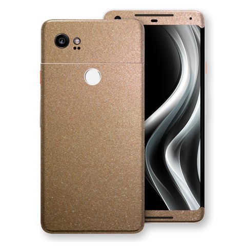 Google Pixel 2 XL Antique Bronze Metallic Skin, Decal, Wrap, Protector, Cover by EasySkinz | EasySkinz.com