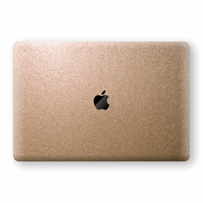 "MacBook Pro 15"" Touch Bar Antique Bronze Metallic Skin, Decal, Wrap, Protector, Cover by EasySkinz 