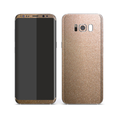 Samsung Galaxy S8+ Antique Bronze Metallic Skin, Decal, Wrap, Protector, Cover by EasySkinz | EasySkinz.com