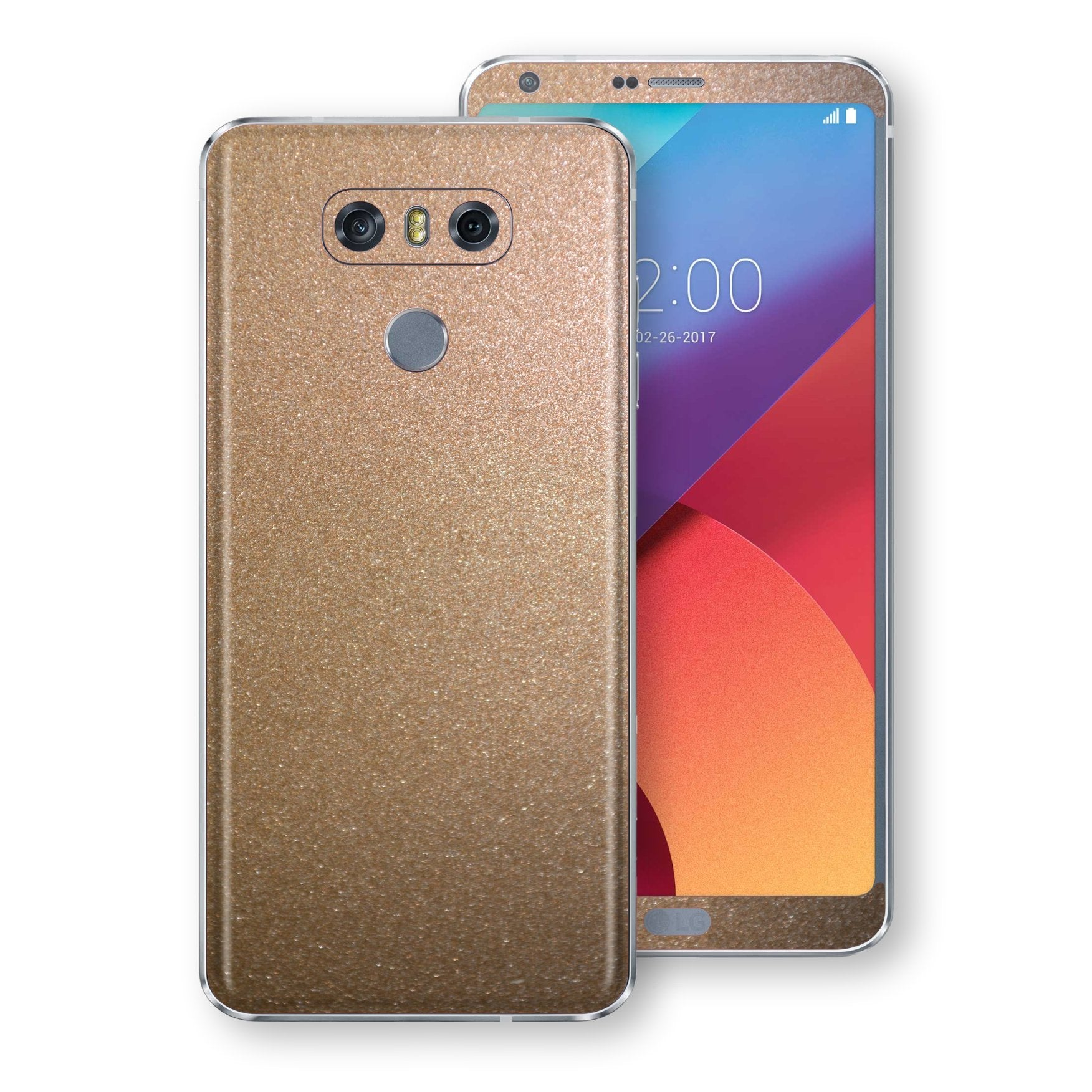 LG G6 Antique Bronze Metallic Skin, Decal, Wrap, Protector, Cover by EasySkinz | EasySkinz.com