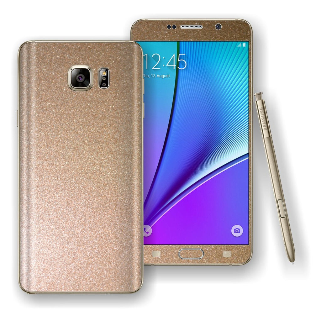 Samsung Galaxy NOTE 5 Glossy Antique Bronze Skin Wrap Decal Cover Protector by EasySkinz