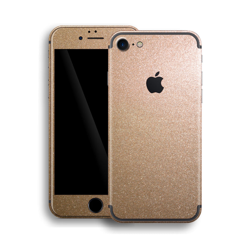 iPhone 7 Glossy Bronze Antique Metallic Skin, Wrap, Decal, Protector, Cover by EasySkinz | EasySkinz.com