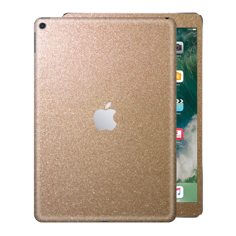 iPad 9.7 inch 2017 Glossy Bronze Antique Metallic Skin Wrap Sticker Decal Cover Protector by EasySkinz