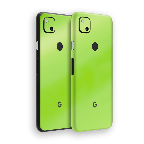 Google Pixel 4a Apple Green Pearl Gloss Finish Skin Wrap Sticker Decal Cover Protector by EasySkinz