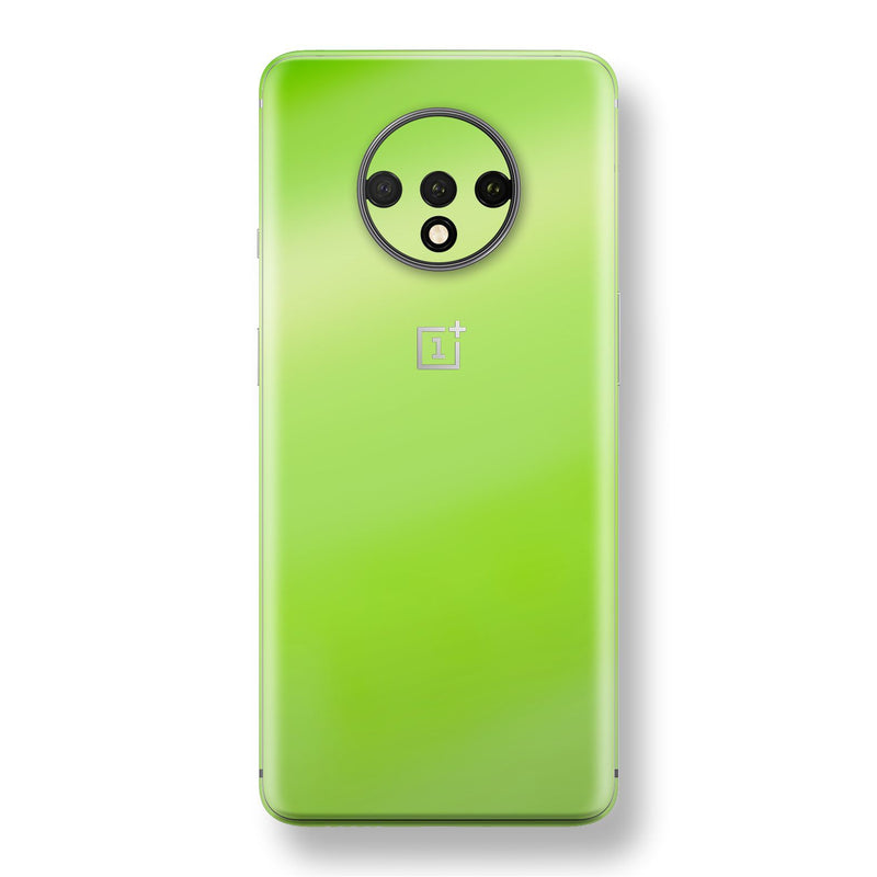 OnePlus 7T Apple Green Pearl Gloss Finish Skin Wrap Decal Cover by EasySkinz