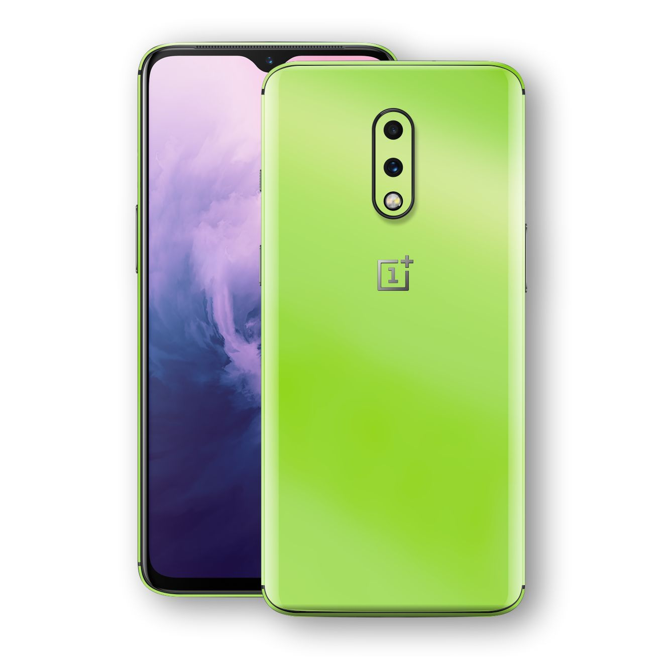 OnePlus 7 Apple Green Pearl Gloss Finish Skin Wrap Decal Cover by EasySkinz