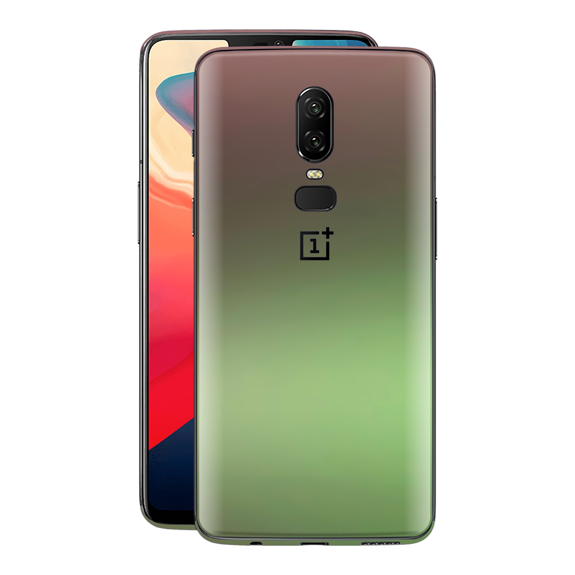 OnePlus 6 Chameleon Avocado Skin Wrap Decal Cover by EasySkinz