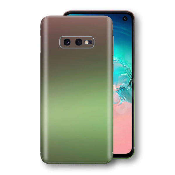 Samsung Galaxy S10e Chameleon Avocado Skin Wrap Decal Cover by EasySkinz