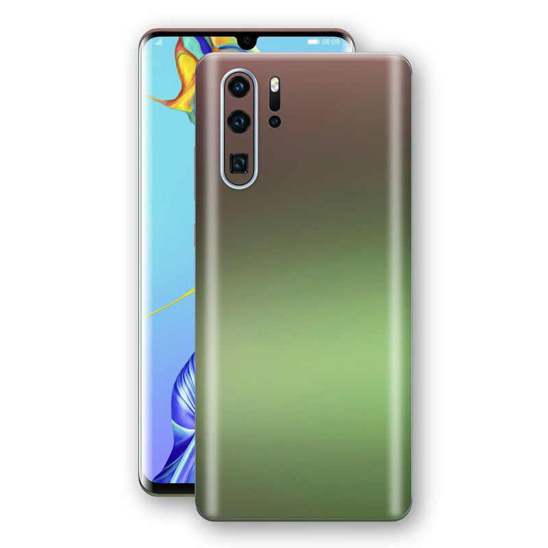 Huawei P30 PRO Chameleon Avocado Skin Wrap Decal Cover by EasySkinz