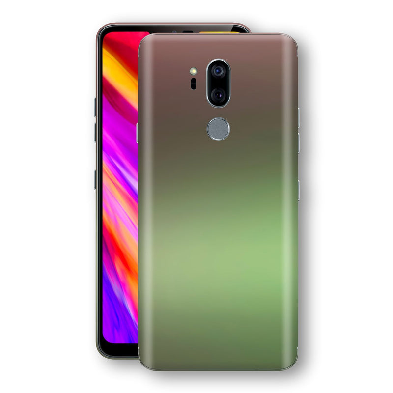 LG G7 ThinQ Chameleon Avocado Skin Wrap Decal Cover by EasySkinz