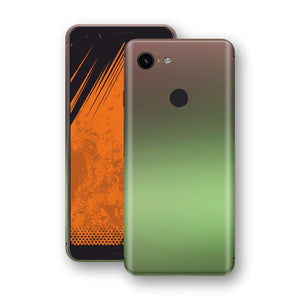 Google Pixel 3 Chameleon Avocado Skin Wrap Decal Cover by EasySkinz