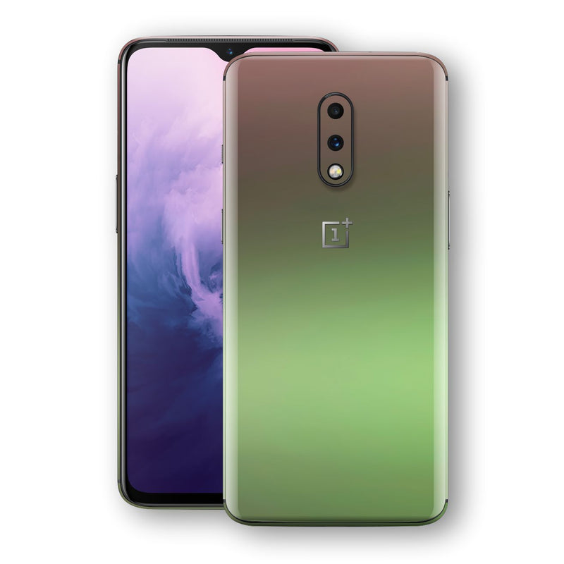 OnePlus 7 Chameleon Avocado Skin Wrap Decal Cover by EasySkinz
