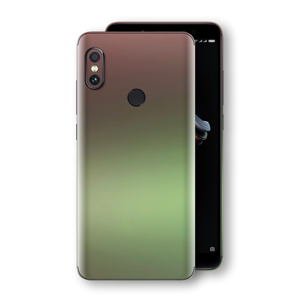 XIAOMI Redmi NOTE 5 Chameleon Avocado Skin Wrap Decal Cover by EasySkinz