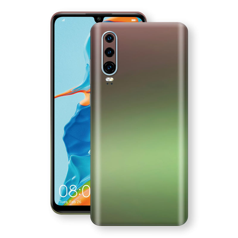 Huawei P30 Chameleon Avocado Skin Wrap Decal Cover by EasySkinz