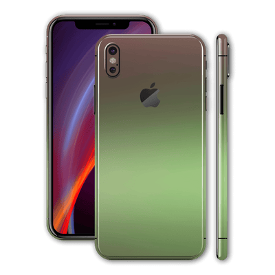iPhone X Chameleon Avocado Colour-changing Skin, Wrap, Decal, Protector, Cover by EasySkinz | EasySkinz.com