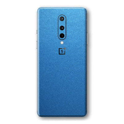 OnePlus 8 Azure Blue Matt Metallic Skin Wrap Sticker Decal Cover Protector by EasySkinz