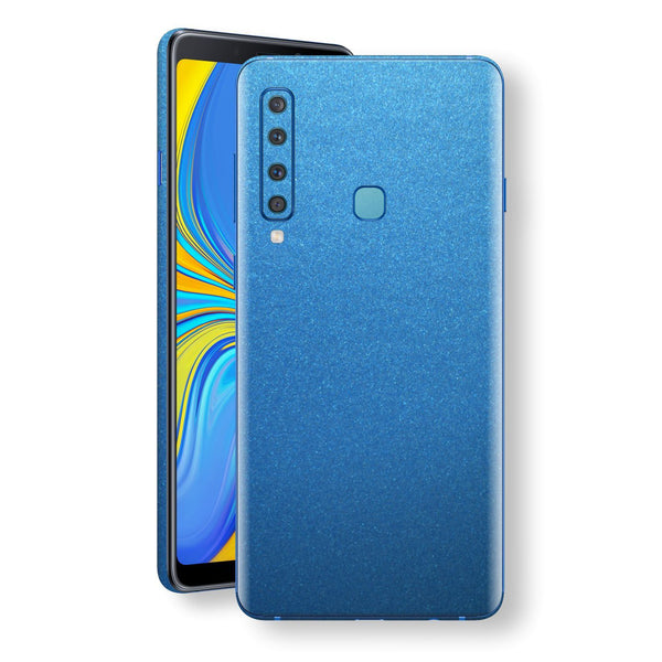 Samsung Galaxy A9 (2018) Azure Blue Matt Metallic Skin, Decal, Wrap, Protector, Cover by EasySkinz | EasySkinz.com