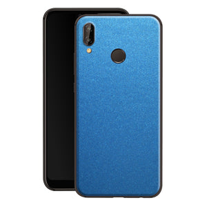Huawei P20 LITE Azure Blue Glossy Metallic Skin, Decal, Wrap, Protector, Cover by EasySkinz | EasySkinz.com