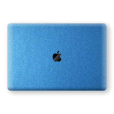 "MacBook Pro 13"" (No Touch Bar) Azure Blue Glossy Metallic Skin, Decal, Wrap, Protector, Cover by EasySkinz 