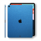 iPad PRO 11 inch 2018 Matt Matte Azure Blue Metallic Skin Wrap Sticker Decal Cover Protector by EasySkinz