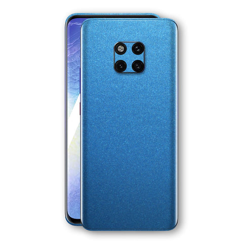 Huawei MATE 20 PRO Azure Blue Glossy Metallic Skin, Decal, Wrap, Protector, Cover by EasySkinz | EasySkinz.com