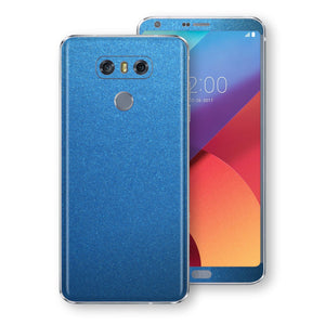 LG G6 Azure Blue Matt Metallic Skin, Decal, Wrap, Protector, Cover by EasySkinz | EasySkinz.com