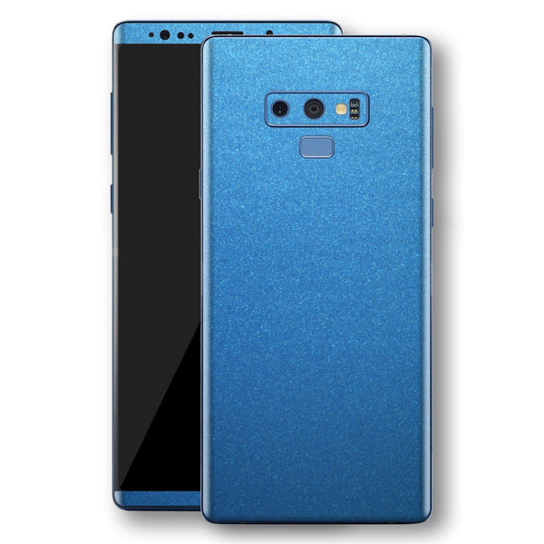 Samsung Galaxy NOTE 9 Azure Blue Glossy Metallic Skin, Decal, Wrap, Protector, Cover by EasySkinz | EasySkinz.com