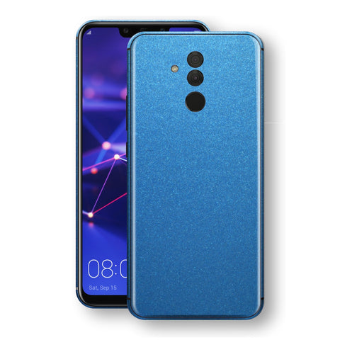 Huawei MATE 20 LITE Azure Blue Glossy Metallic Skin, Decal, Wrap, Protector, Cover by EasySkinz | EasySkinz.com