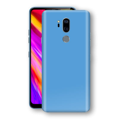 LG G7 ThinQ Glossy SKY BLUE Skin, Decal, Wrap, Protector, Cover by EasySkinz | EasySkinz.com