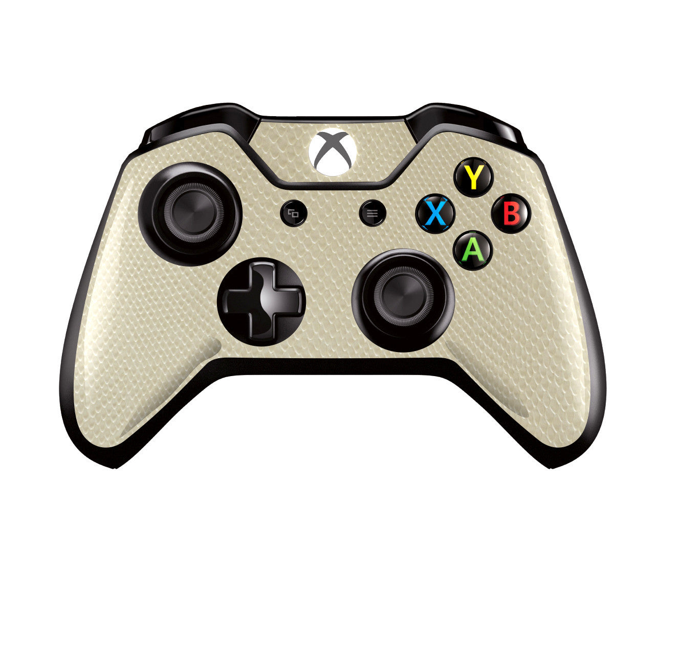 Xbox One Controller Beige 3D Textured MAMBA SNAKE Effect Skin Wrap Sticker Decal Protector Cover by EasySkinz