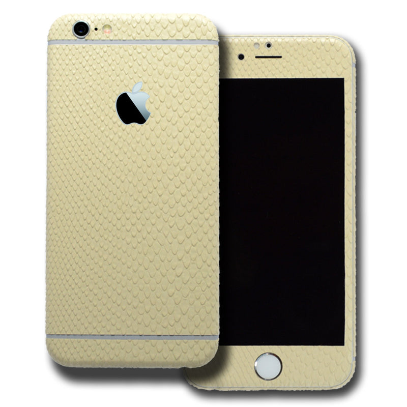 iPhone 6 Plus BEIGE MAMBA SNAKE Skin Wrap Sticker Cover Decal Protector by EasySkinz