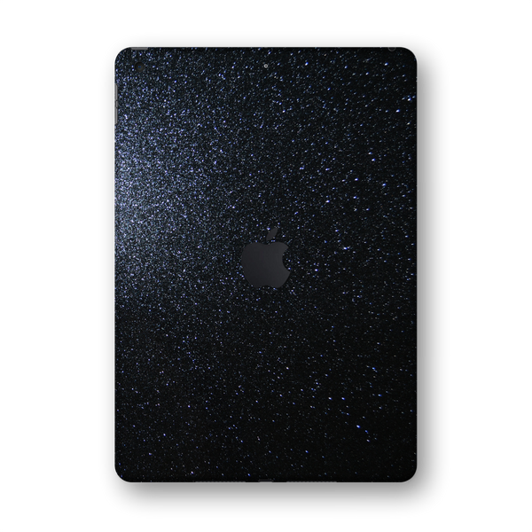 "iPad 10.2"" (7th Gen, 2019) Diamond BLACK Skin Wrap Sticker Decal Cover Protector by EasySkinz"