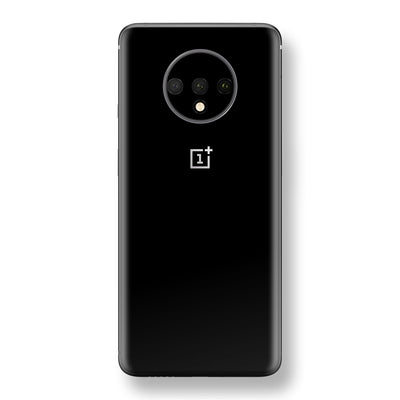 OnePlus 7T Black Gloss Finish Skin, Decal, Wrap, Protector, Cover by EasySkinz | EasySkinz.com