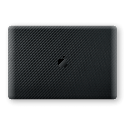 "MacBook Air 13"" (2020) Black 3D Textured CARBON Fibre Fiber Skin, Wrap, Decal, Protector, Cover by EasySkinz 
