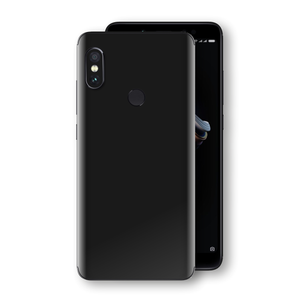 XIAOMI Redmi NOTE 5 Black Matt Skin, Decal, Wrap, Protector, Cover by EasySkinz | EasySkinz.com
