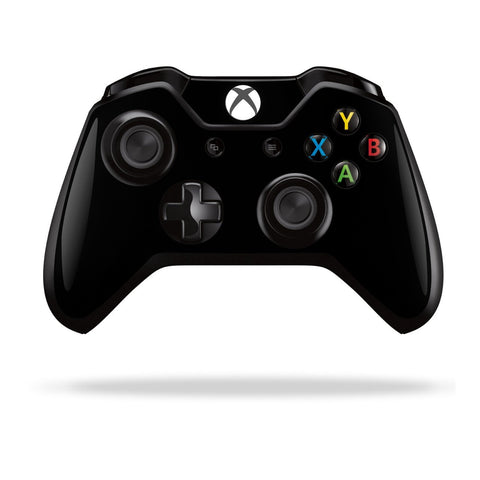 Xbox One Controller Black MATT Matte Skin Wrap Sticker Decal Protector Cover by EasySkinz