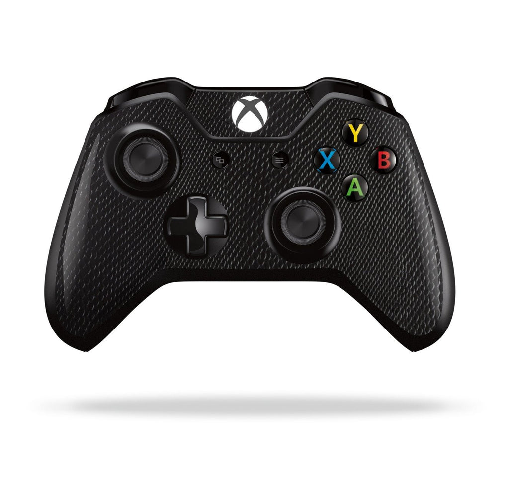 Xbox One Controller Black 3D Textured Mamba Snake Effect Skin Wrap Sticker Decal Protector Cover by EasySkinz