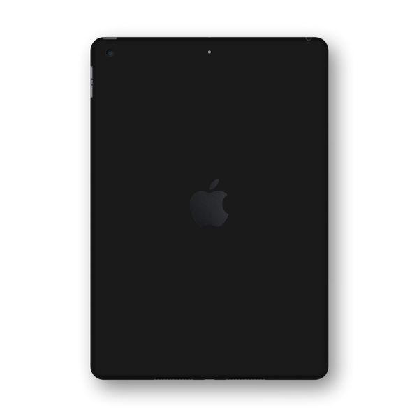 "iPad 10.2"" (7th Gen, 2019) Glossy Black Skin Wrap Sticker Decal Cover Protector by EasySkinz"