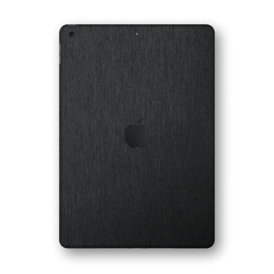 "iPad 10.2"" (8th Gen, 2020) Brushed Black Metallic Skin Wrap Sticker Decal Cover Protector by EasySkinz"