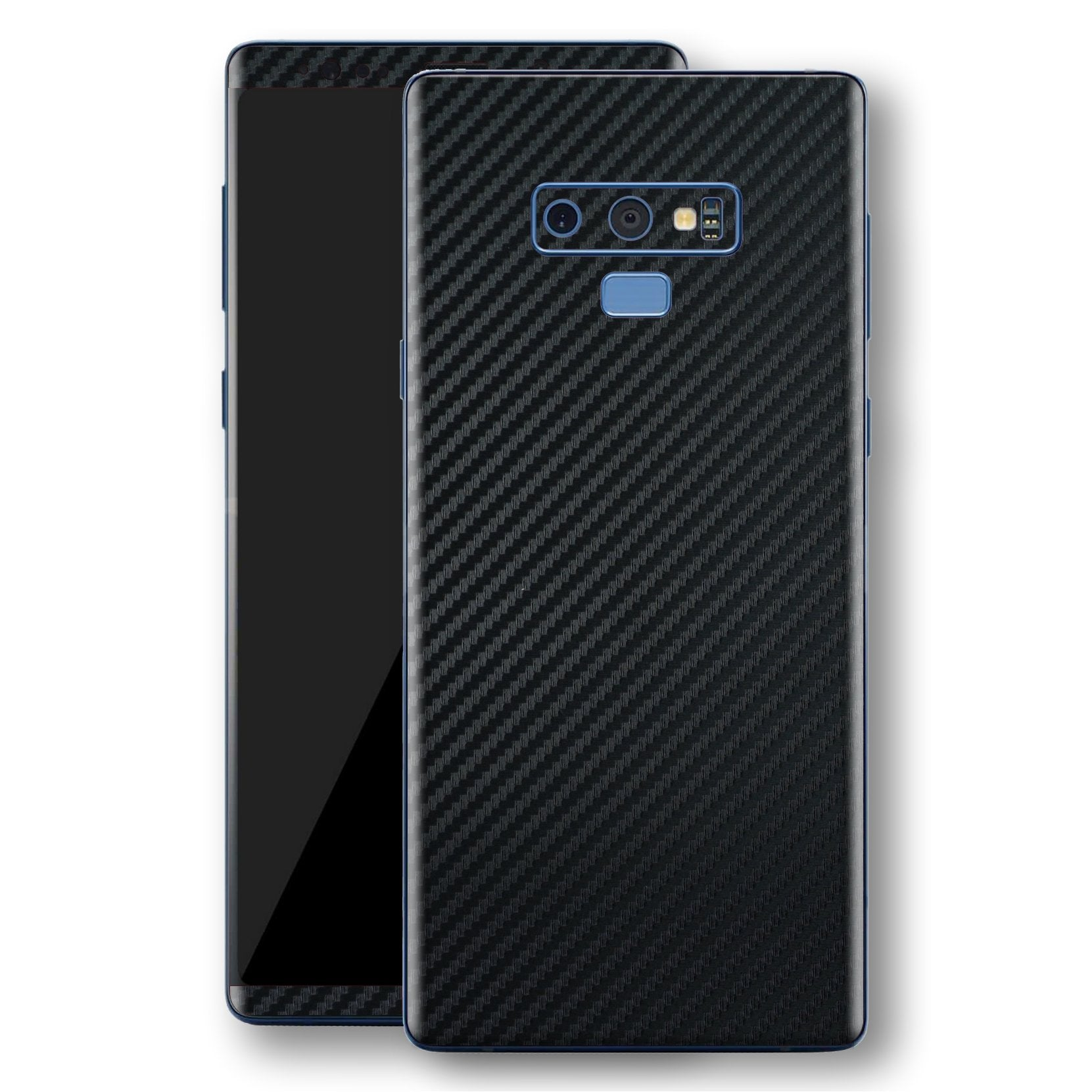 Samsung Galaxy NOTE 9 3D Textured Black Carbon Fibre Fiber Skin, Decal, Wrap, Protector, Cover by EasySkinz | EasySkinz.com